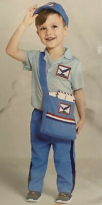 $20 • Buy Toddler Mail Carrier Costume 2/3T