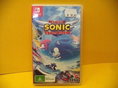 AU24.95 • Buy Nintendo Switch Team Sonic Racing Game