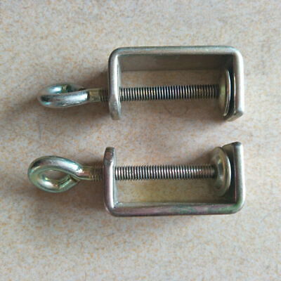 £7.79 • Buy 2 Pcs Table Clamps For All Brother Knitting Machines KH840 KH860 KH868 SK360