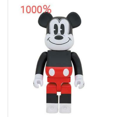 $1190 • Buy Medicom Toy Bearbrick Disney MICKEY MOUSE 1000% Red & White 2020 Ver. Be@rbrick