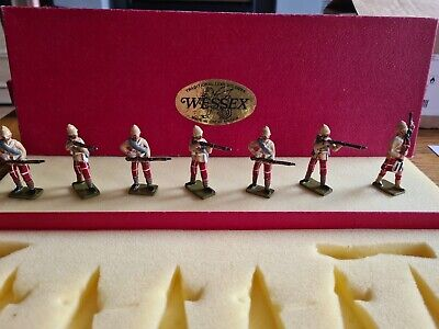 Wessex Lead Soldiers Highland Infantry Afghanistan And Egypt • 40£