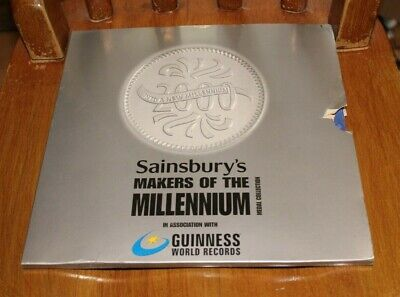 £9.99 • Buy Sainsburys Makers Of The Millenium Coin Set -boxed-