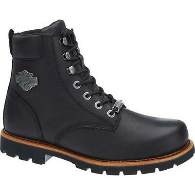 $ CDN188.07 • Buy Harley Davidson Vista Ridge Mens Black Motorcycle Biker Boots Size UK 8-11