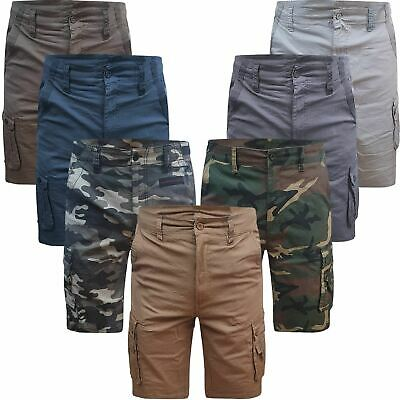 £8.99 • Buy Airwalk / Beverly Polo Mens Cargo Shorts Stretch Cotton Combat Pants 6 Pockets