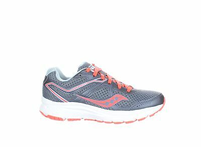$ CDN12.47 • Buy Saucony Womens Cohesion 11 Grey/Red Running Shoes Size 5 (1384175)