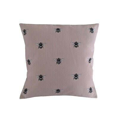 £9.99 • Buy 16  Cushion Cover In Clarke And Clarke Abeja Bee Blush Pink
