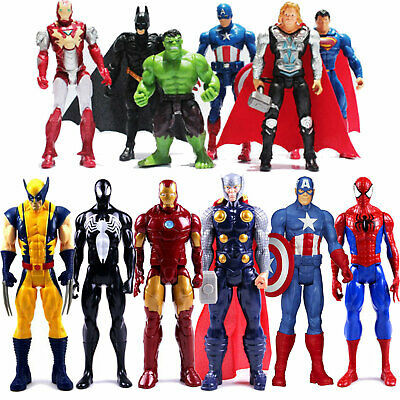 £6.79 • Buy Boys Marvel Avengers Spiderman Action Figure Xmas Collection Doll Toys Gift S