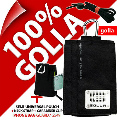 £14.97 • Buy Golla Black Phone Case Pouch Bag For IPhone 4 4S 5 5S 5C SE Samsung Galaxy S2