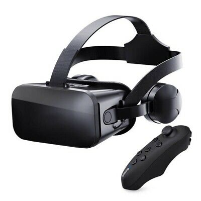 AU39.89 • Buy Virtual Reality VR Headset 3D Glasses W/ Remote RC For IPhone Samsung Android