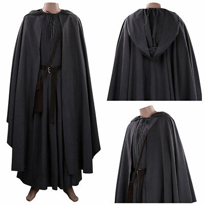 $ CDN134.98 • Buy The Hobbit Gandalf Cosplay Costume Outfits Halloween Carnival Fancy Dress Suit