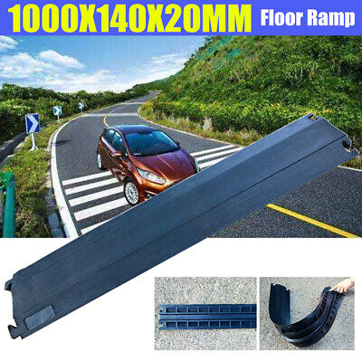 £13.73 • Buy 1m Durable Wire Cover Floor Cable Cord Road Ramp Protector Safety Rubber Outdoor