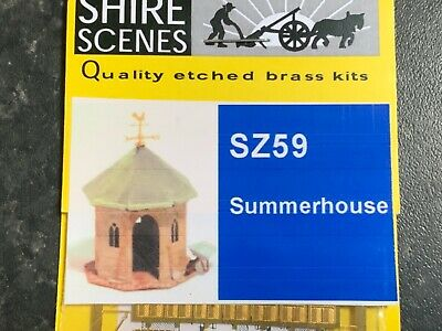 AU32.06 • Buy Suitable Marklin Spur Z Scale/gauge Shire Scenes Brass Summerhouse Kit.