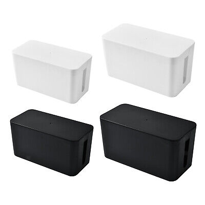 £8.54 • Buy Cable Tidy Box, Madream Cable Box Tidy With Cable Management Box Large With Lid