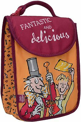 £3.99 • Buy Roald Dahl Charlie And The Chocolate Factory Kids Lunch Bag 100% Safe Washable