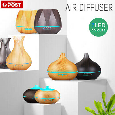 AU18.89 • Buy 550ml Aroma Aromatherapy Air Diffuser LED Essential Oil Ultrasonic Humidifier AU