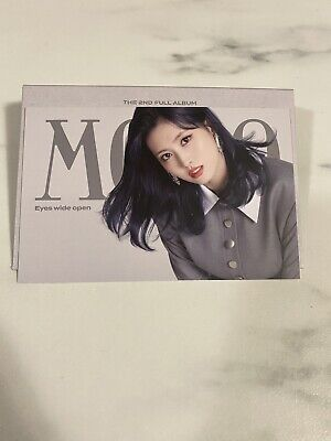 $ CDN7 • Buy Twice Offical Eyes Wide Open Message Card Photocard Momo
