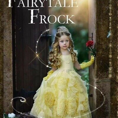 £233.65 • Buy NEW Dollcake Fairytale Yellow Frock Dress Pagent Party Special Sz 5