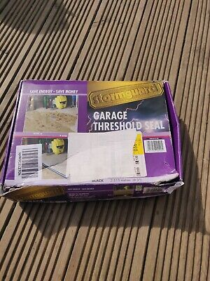 £28.99 • Buy Garage Floor Gap Seal Threshold For Up And Over Hinged Rolled Doors Stop Leak
