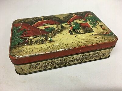 Vintage Bluebird Toffee Tin / Box / Caddy - Take The Home Sweet Home • 4.49£