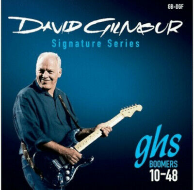 $ CDN14.14 • Buy GHS Guitar Strings David Gilmour SIgnature Blue Strat Set 10-48