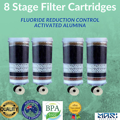 AU80 • Buy Aimex Water Filter Fluoride Water Filter Reduction Control 8 Stage Cartridge X 4