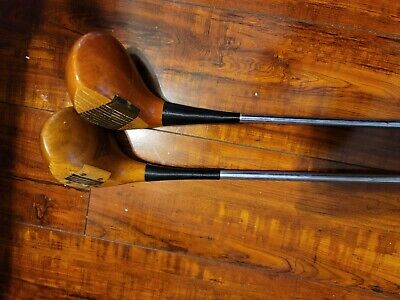 $50 • Buy Macgregor Tourney M85 Club Vintage, Eye-O-Matic, #3 Wood. Oil  Hardened. #1 OW2A
