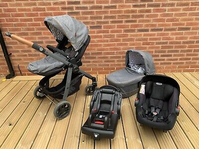 Graco Evo-Avant Travel System • 150£