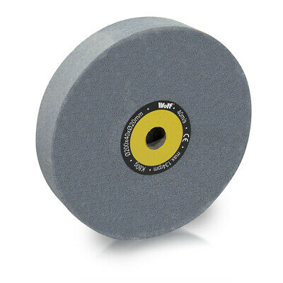Wolf 200x40x20mm 80 Grit Grinding Wheel Bench Grinder • 21.99£