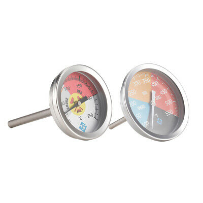 £8 • Buy Stainless Steel Barbecue BBQ Smoker Grill Thermometer Temperature Gauge