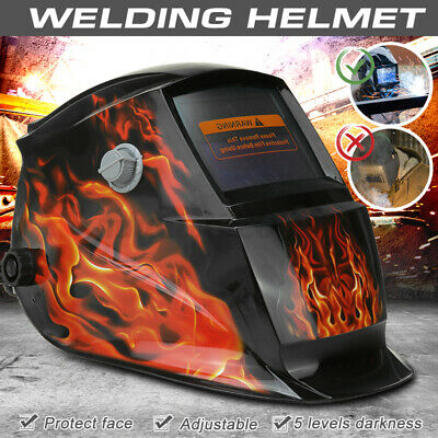 $ CDN51.14 • Buy Solar Power Welding Helmet Auto Darkening Protection Kit TIG MIG Adjustable Knob