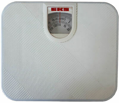 £12.95 • Buy White Mechanical Bathroom Scales Set, Extra Wide Weighing Scale, 130 Kg 20 Stone