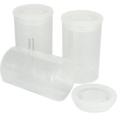 AU9.99 • Buy Clear Film Canisters Plastic Containers Slime Favour Storage Pack Of 12