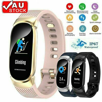 AU24.90 • Buy Smart Watch Tracker Phone Mate Fitness Steps Counter Gift For Android IPhone