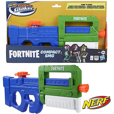£24.99 • Buy Nerf Super Soaker Fortnite Compact SMG New Pump Action Water Gun Toy Blaster 8+