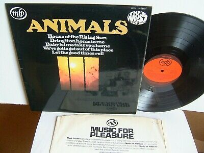 £12.99 • Buy The Animals - The Most Of  MFP 5218  UK LP 1st Press 1971 House Rising Sun