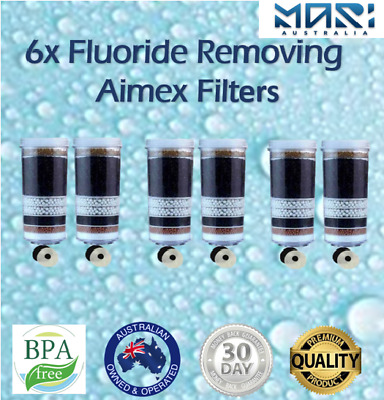 AU110 • Buy 8 Stage Water Filter Fluoride Reduction Control Filter Cartridges Water Purifier