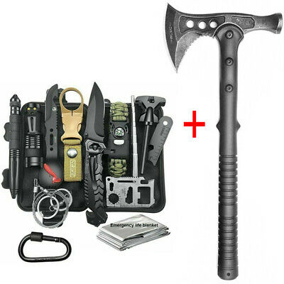 $56.90 • Buy Throwing Camping Tomahawk Emergency Equipment EDC Kit Tool Tactical Survival Axe