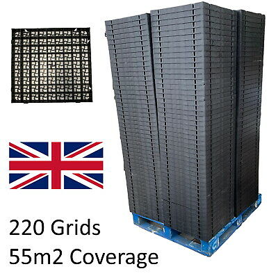 £84.99 • Buy Pallet Of Reinforcement Grass Gravel Grids Lawn Shed Garden Paver Stone Eco Base