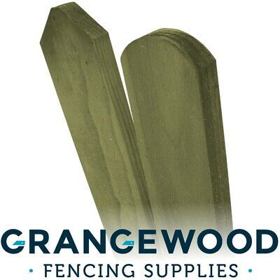 £1.10 • Buy Picket Garden Fencing Pales Timber Treated Wood Panels Boards Palings (Each)