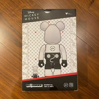 $749.97 • Buy Ready To Go Bearbrick  Fragment Mickey Mouse Reverse Ver. 100 400