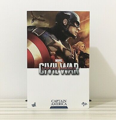 $ CDN430 • Buy HOT TOYS MMS350 Captain America (Civil War) 1/6 Scale Collectable Figure (Used)