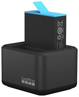 AU80 • Buy GoPro Dual Battery Charger & 1x Battery For Hero9 Blk - BRAND NEW - GOPRO BRAND