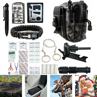 $28.99 • Buy Tactical Backpack Gear Tools Set 65 In1 Outdoor Camping Emergency Survival Kits