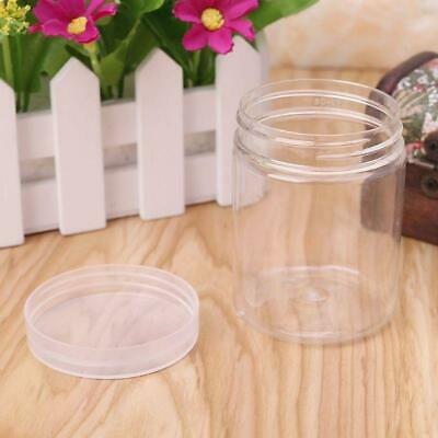 AU3.37 • Buy 150ml Round Clear PET Container Jar Pot Bottle For DIY Slime Clay Makeup Cream