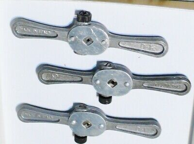 £15.43 • Buy Lotto Di N° 3 GIRAMASCHI Tap Wrenches Meccanica Fine Orologiaio Watchmakers Tool