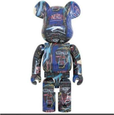 $1009.29 • Buy Bearbrick  Jean-Michel Basquiat 1000