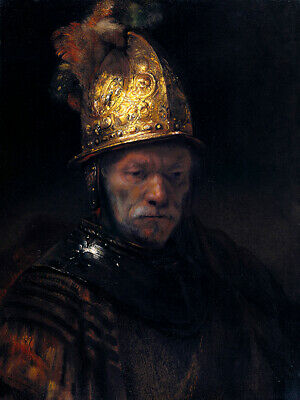 £4.99 • Buy The Man With The Golden Helmet (1650) Rembrandt Wall Art Poster Print