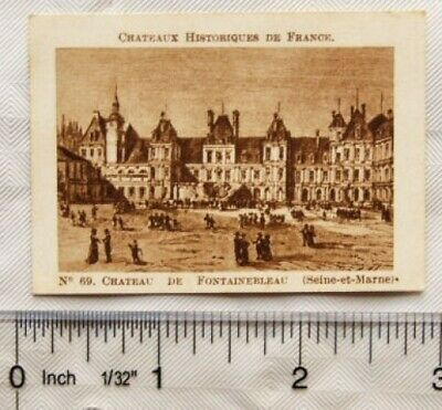 $ CDN2.56 • Buy Vintage: French Chocolate Card No. 69 Chateau De Fontainebleau, Seine-et-Marne