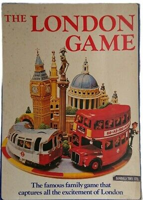 £19.99 • Buy Bambola Toys The London Game - Vintage Board Game 1972