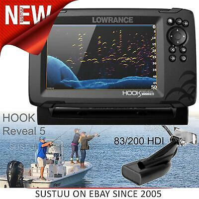 £401.82 • Buy Lowrance Hook Reveal 7 CHIRP Fishfinder/ Chartplotter & 83/200 HDI Transducer